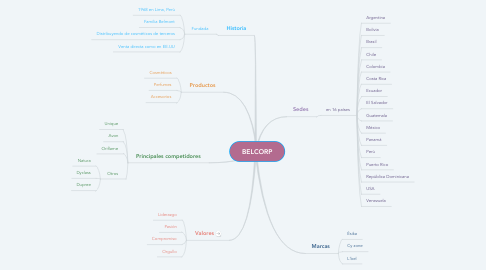 Mind Map: BELCORP