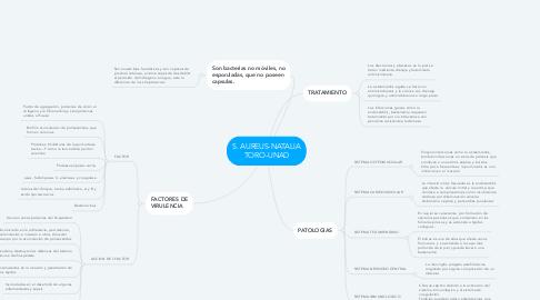 Mind Map: S. AUREUS-NATALIA TORO-UNAD