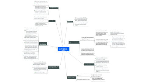 Mind Map: STRATEGIC PLANNING  IN THE CONTEXT OF WCED'S VISION AND VALUES