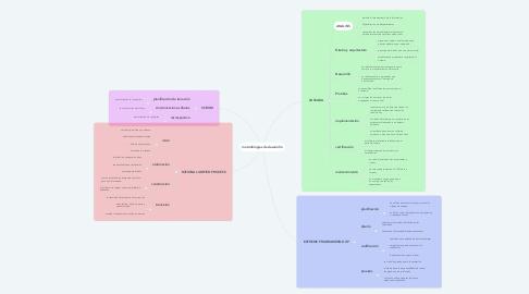 Mind Map: metodologias de desarrollo
