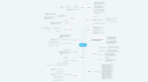 Mind Map: English 317