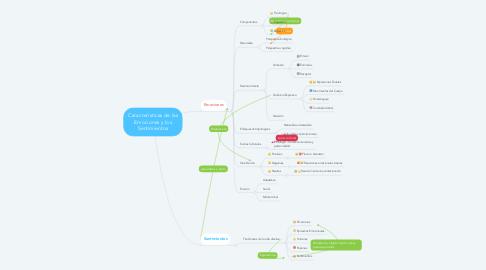 Mind Map: Características de las Emociones y los Sentimientos