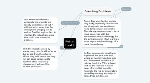 Mind Map: Public  Health