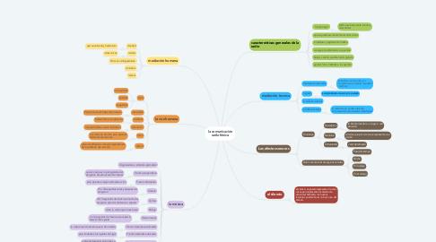 Mind Map: la comunicación radiofónica