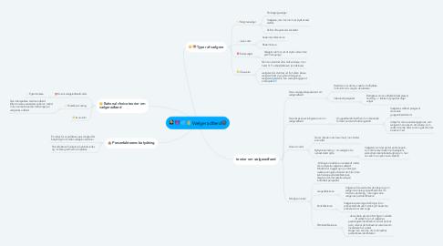 Mind Map: Vælgeradfærd🌚