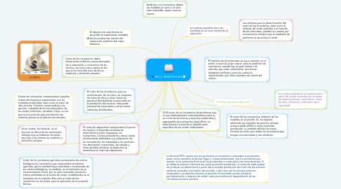 Mind Map: NIC 2  EXISTENCIAS