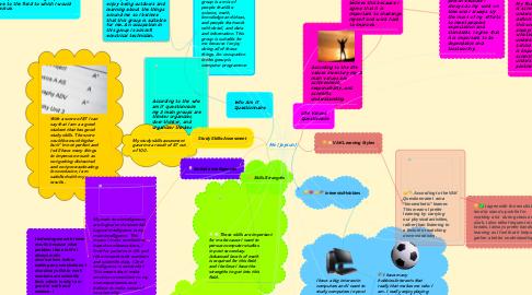 Mind Map: Me (Jaysun)