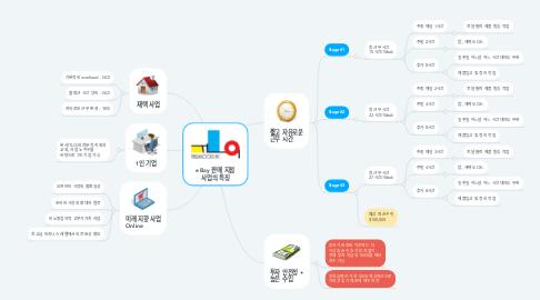 Mind Map: eBay 판매 지점 사업의 특징