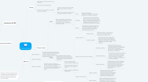 Mind Map: Proceso de Lectura