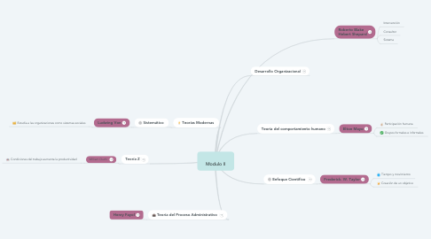 Mind Map: Modulo II