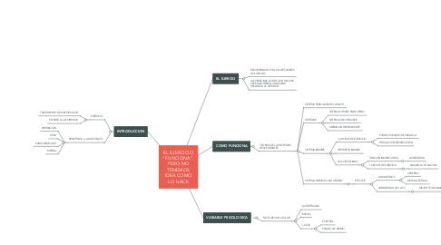 Mind Map: SINDROME DE DOWN