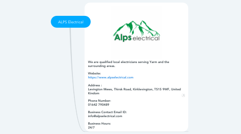 Mind Map: ALPS Electrical