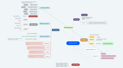 Mind Map: CARBOIDRATO