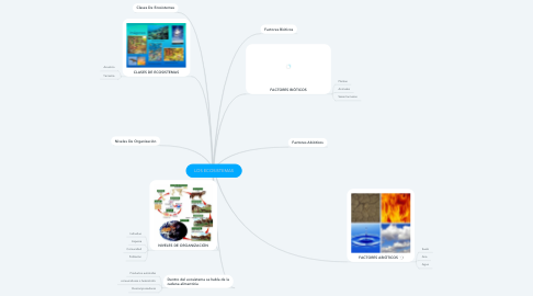 Mind Map: LOS ECOSISTEMAS