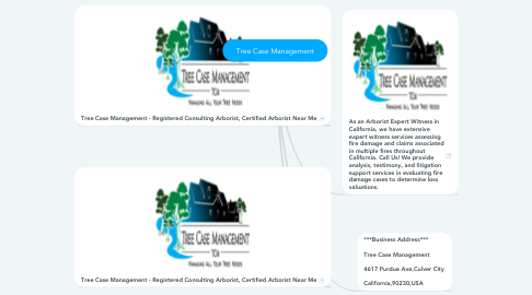 Mind Map: Tree Case Management