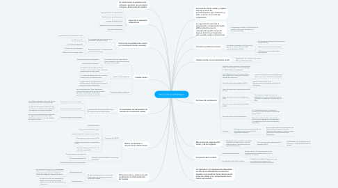 Mind Map: PATOLOGIA GENERAL II