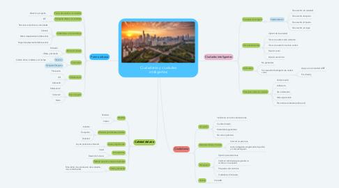 Mind Map: Ciudadanía y ciudades inteligentes