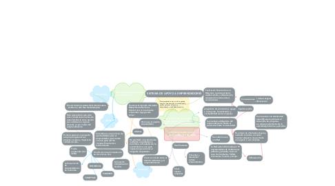 Mind Map: SISTEMA DE APOYO A EMPRENDEDORES