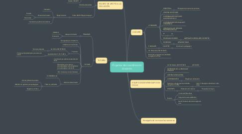 Mind Map: Órganos de coordinación docente
