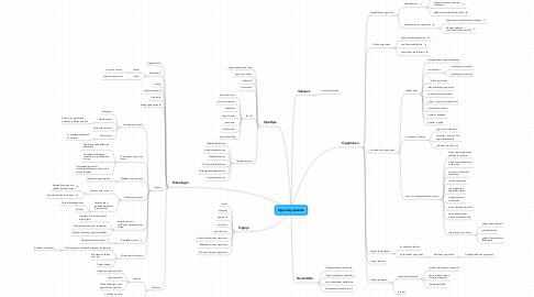 Mind Map: Oppimisympäristö