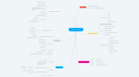 Mind Map: Insuficiencia Cardiaca