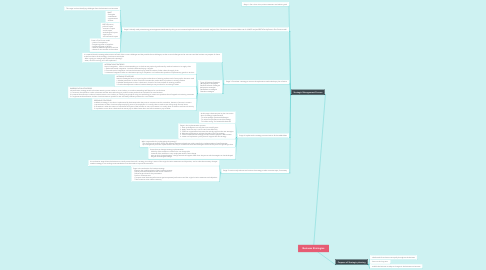 Mind Map: Business Strategies