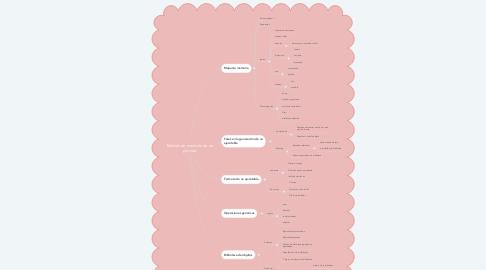 Mind Map: Modelo de memoria de un proceso