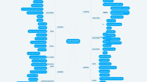 Mind Map: DESENVOLVIMENTO NEUROPSICOMOTOR
