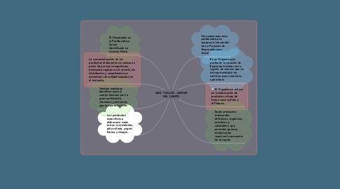 Mind Map: VIDA Y SALUD - AROMA DEL CAMPO