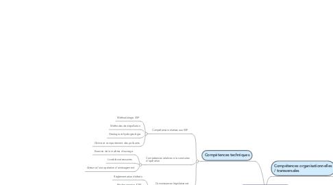 Mind Map: chargée d'étude SSP