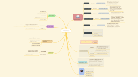 Mind Map: PERCEPCIÓN