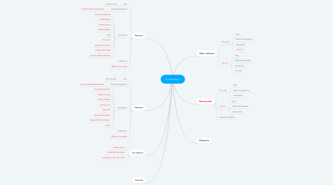 Mind Map: Le tanneur