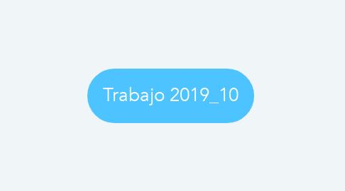 Mind Map: Trabajo 2019_10