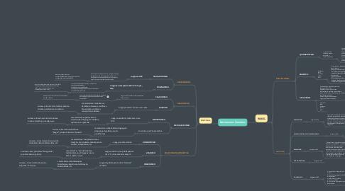 Mind Map: Movimentos Literários
