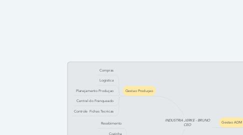 Mind Map: INDUSTRIA JERKE - BRUNO CEO