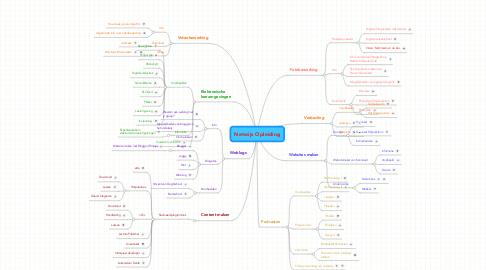Mind Map: Netwijs Opleiding