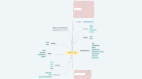 Mind Map: NORMAS NTP