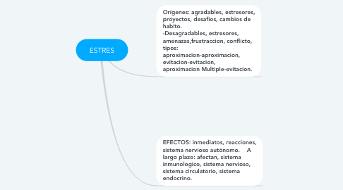 Mind Map: ESTRES