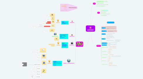 Mind Map: ORGANISATION CHRYSALIDES47