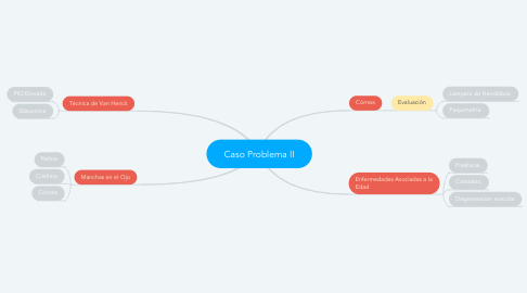 Mind Map: Caso Problema II