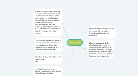 Mind Map: Paratiroides