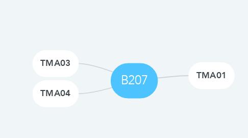 Mind Map: B207