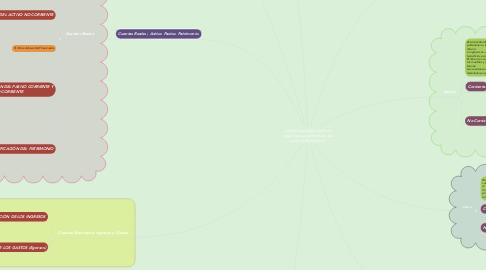 Mind Map: ¿Cómo se pueden clasificar, según sus características, las cuentas de balance?