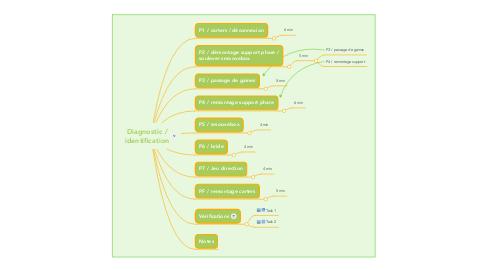 Mind Map: Diagnostic / identification