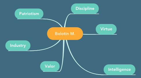 Mind Map: Bolotin М.