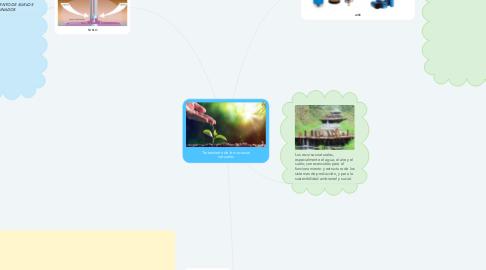 Mind Map: Tratamiento de los recursos naturales