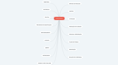 Mind Map: CARTOGRAFIA