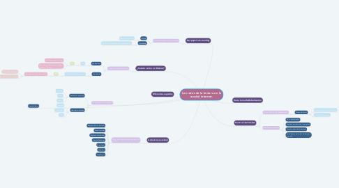Mind Map: Los retos de la lectura en la era del internet.