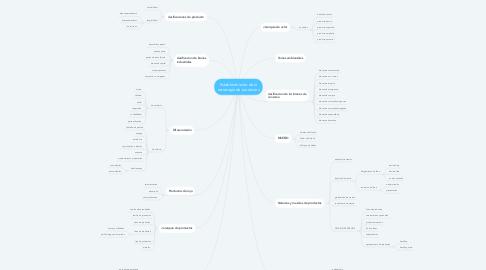 Mind Map: Establecimiento de la estrategia de productos
