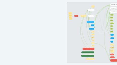 Mind Map: influenciadores en Colombia